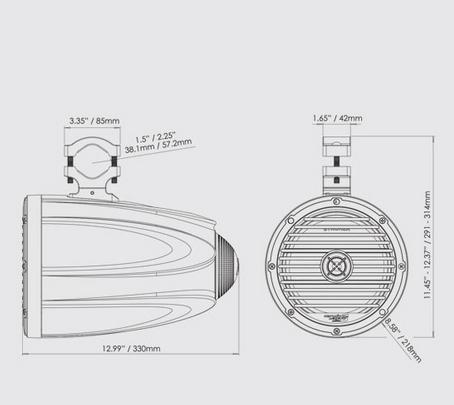 Great marine speaker system